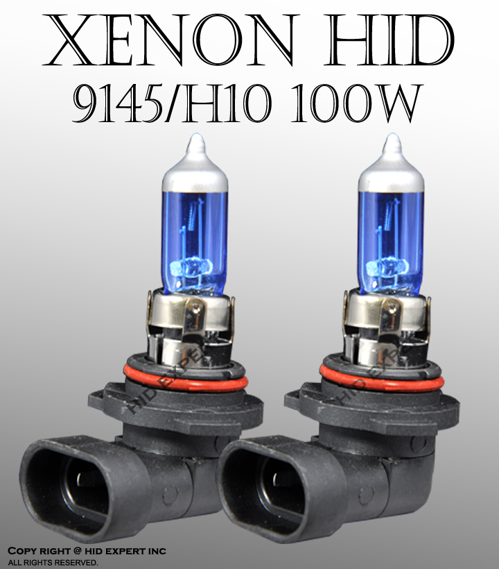 ICBEAMER H10/ 9145 100W x2 pcs 12V Fog Xenon HID White Direct Replace CX55