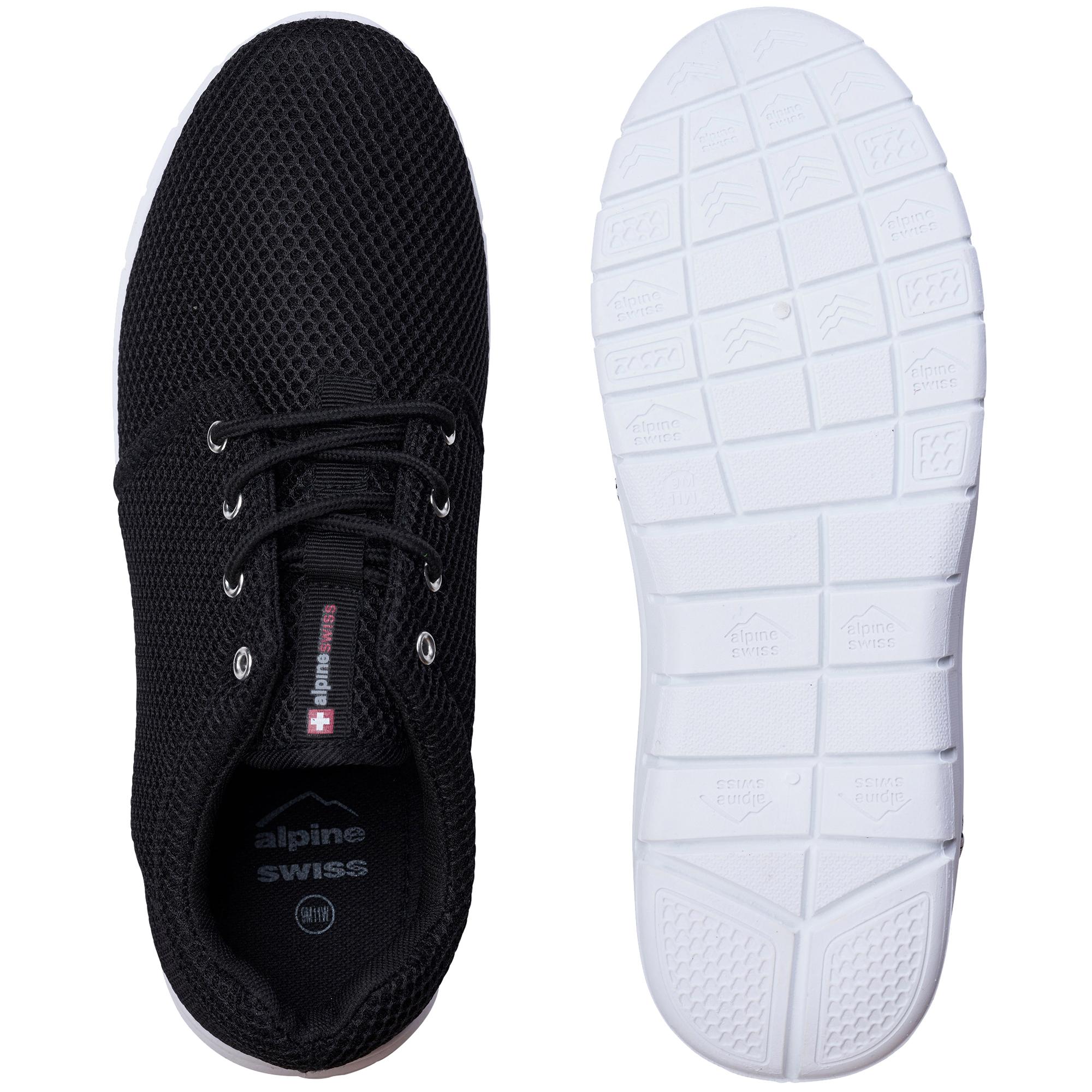 Alpine Swiss Kilian Mesh Sneakers Casual Shoes Mens /& Womens Lightweight Trainer