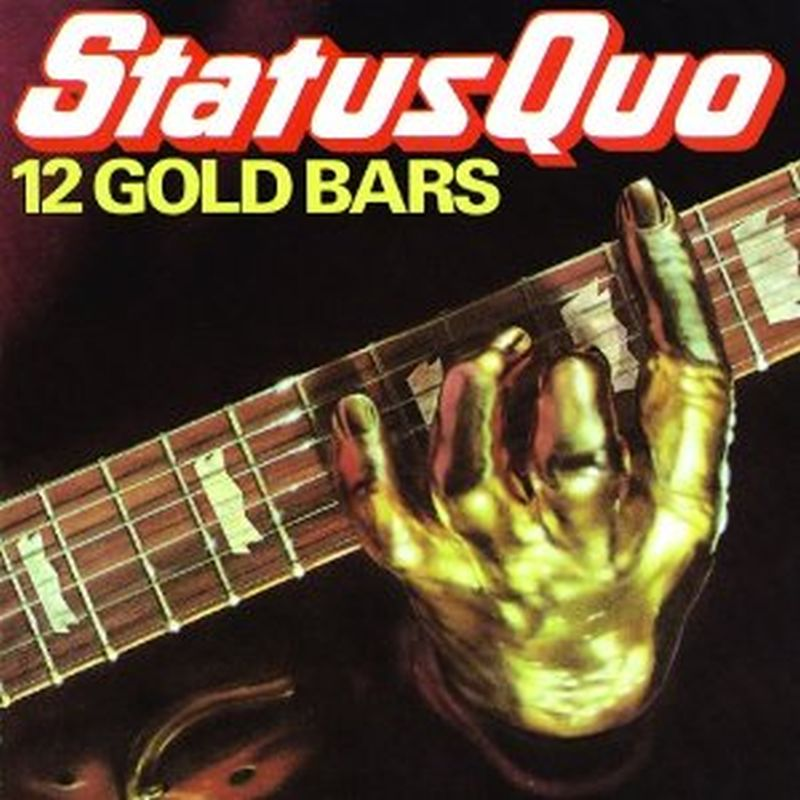 Status Quo - 12 Gold Bars - Cd