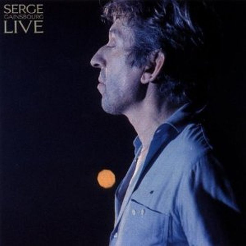 Serge Gainsbourg - Live - Cd