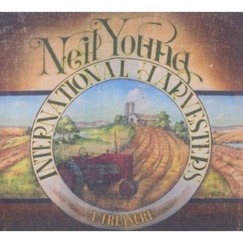 Neil Young - A Treasure: Live - Cd