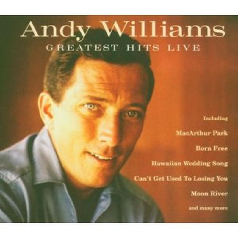 Andy Williams - Greatest Hits: Live - Cd