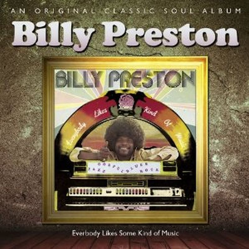 Billy Preston - Everybody Likes Some Kind Of Music - Cd