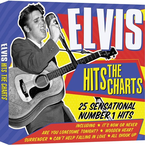Elvis Presley - Elvis Hits The Charts - Cd