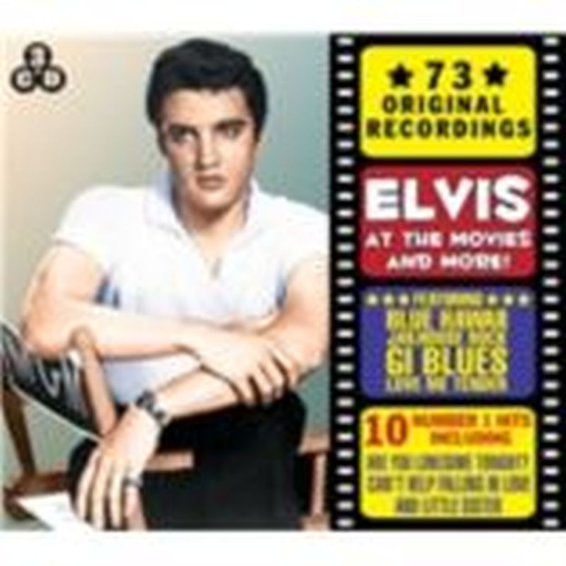Elvis Presley - Elvis At The Movies And More! (73 Original Recordings - 3-cd Set)