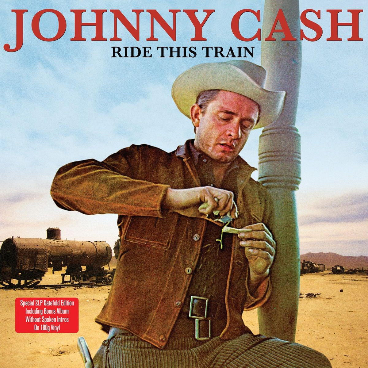 Johnny Cash - Ride This Train (180 Gram/w/bonus Album - 2 Vinyl Set)
