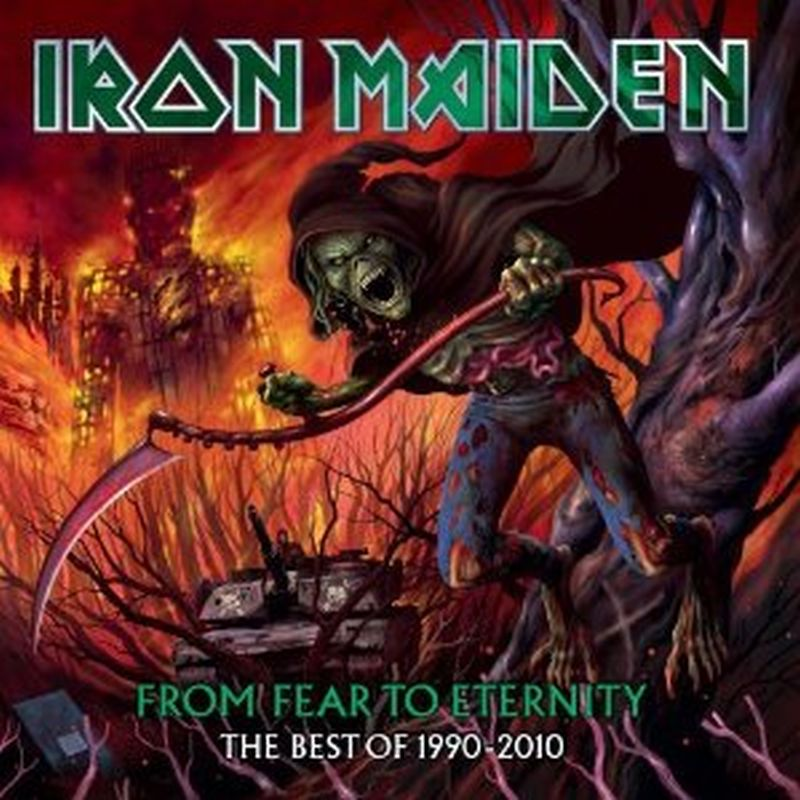 Iron Maiden - 1990-2010: From Fear To Eternity - 2 Cd Set