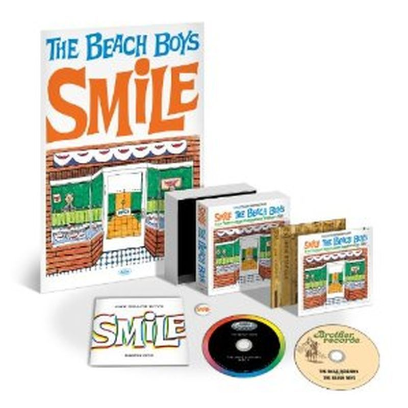 Beach Boys - Smile Sessions (dlx Ed/36-pg Booklet/poster/button - 2-cd Box Set)