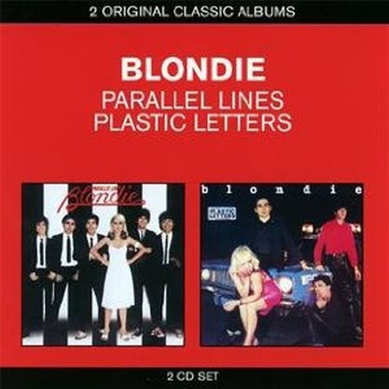 Blondie - Parallel Lines/plastic Letters - 2 Cd Set