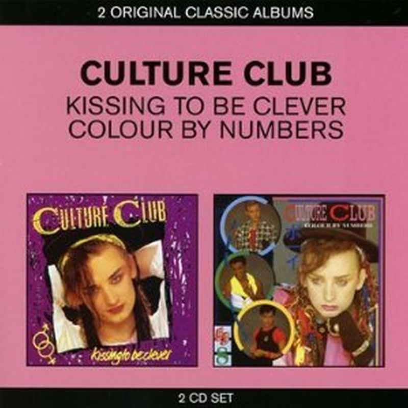 Culture Club - Kissing To Be Clever/colour By... - 2 Cd