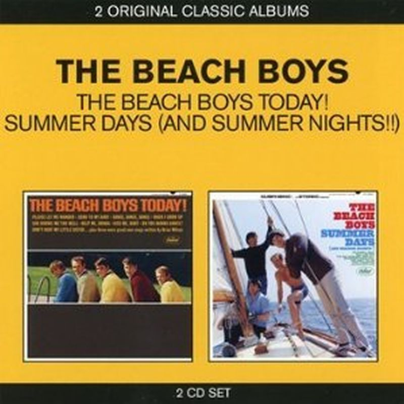 Beach Boys - Beach Boys Today!/summer Days - 2cd