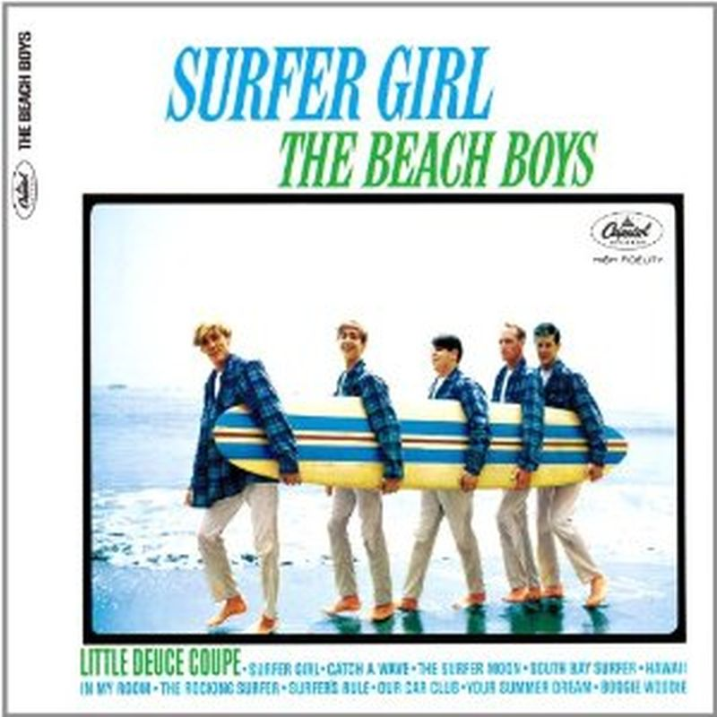 Beach Boys - Surfer Girl (limited/digi/mono/stereo - Cd)