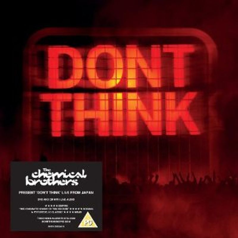 Chemical Brothers - Don't Think - Cd+dvd