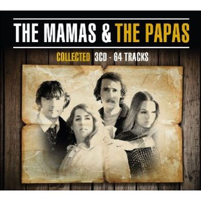 Mamas & The Papas - Collected - 3 Cd Set