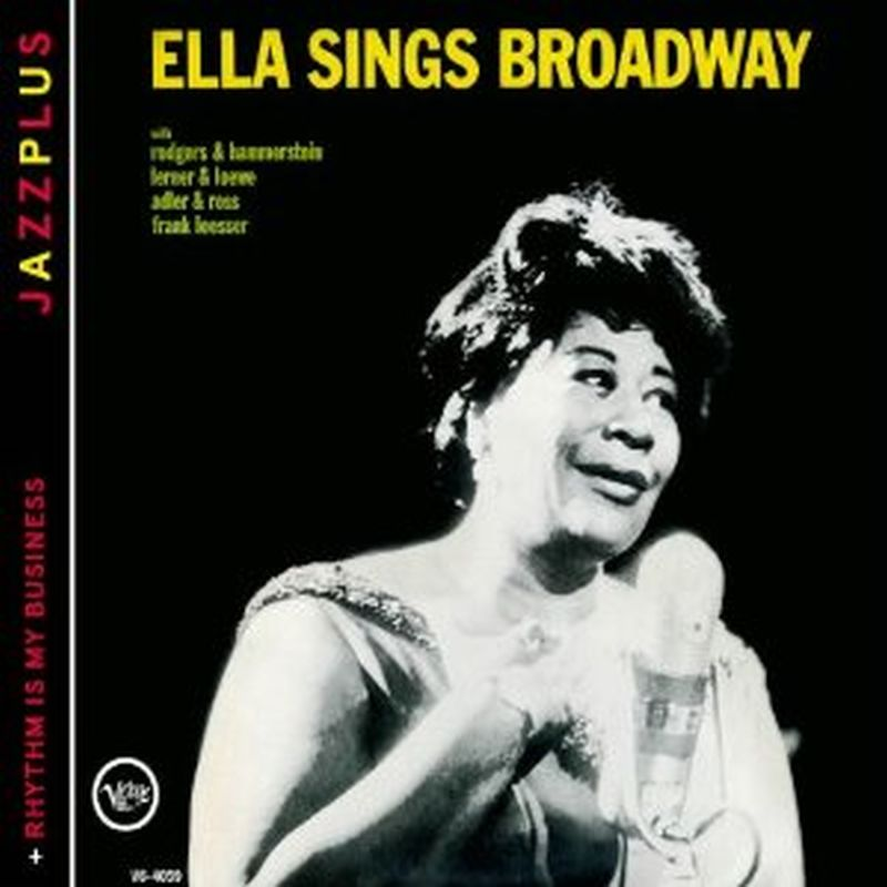 Ella Fitzgerald - Sings Broadway/rhythm Is My Business - Cd