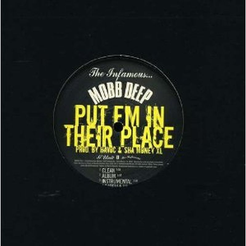 Mobb Deep - Put Em In Their Place (advisory/12 Inch Single - Vinyl)