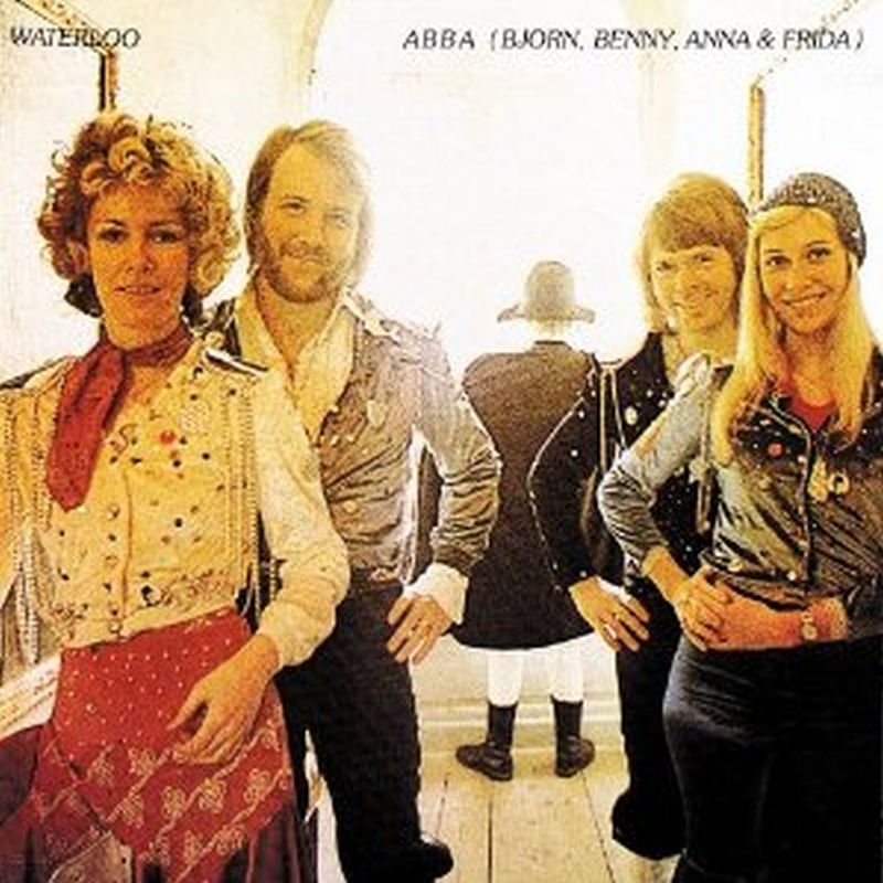 Abba - Waterloo - (p1974 Polar Music Ab - Vinyl)
