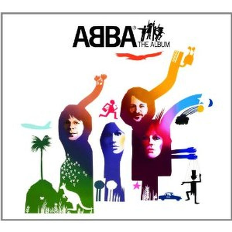 Abba - The Album - (p1977 Polar Music Ab - Vinyl)