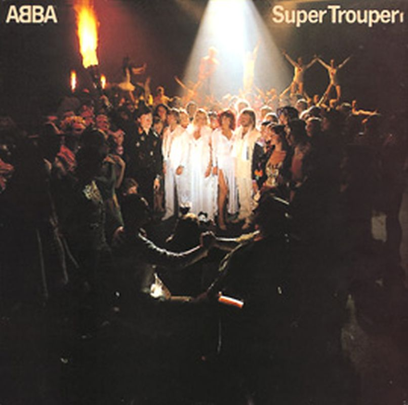 Abba - Super Trouper - (p1980 Polar Music Ab - Vinyl)