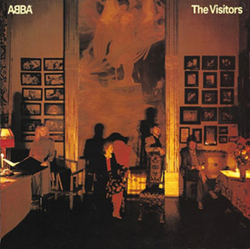Abba - Visitors - (p1981 Polar Music Ab - Vinyl)