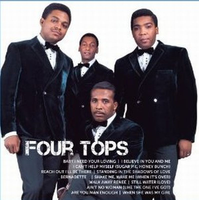 Four Tops - Icon - Cd