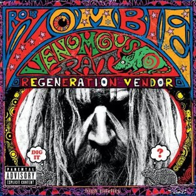 Rob Zombie - Venomous Rat Regeneration Vendor (advisory - Cd)
