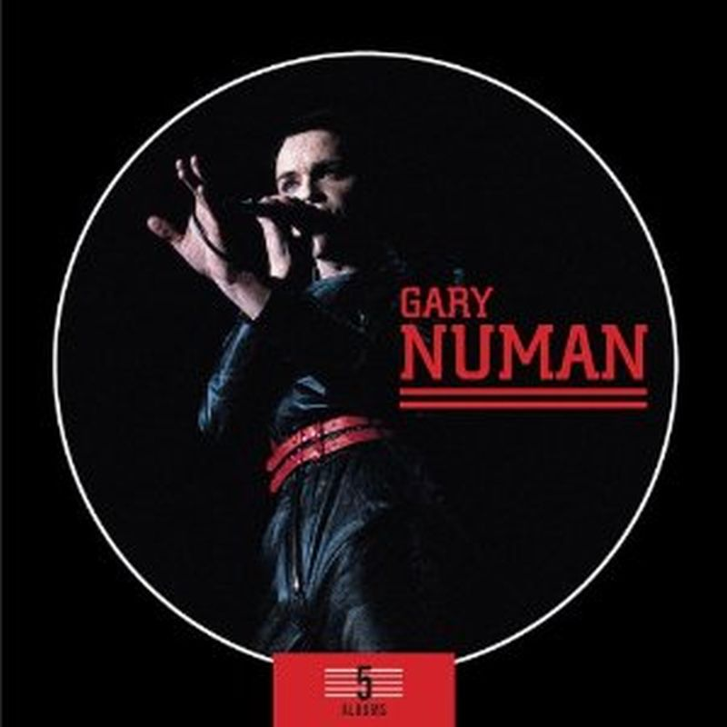 Gary Numan - 5 Albums - 5 Cd Set