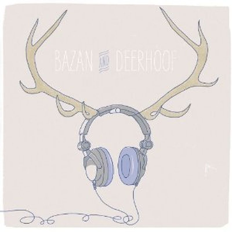 Deerhoof/Bazan - Deerbazan (limited 7 Inch Clear Blue Vinyl/mp3 - Vinyl)