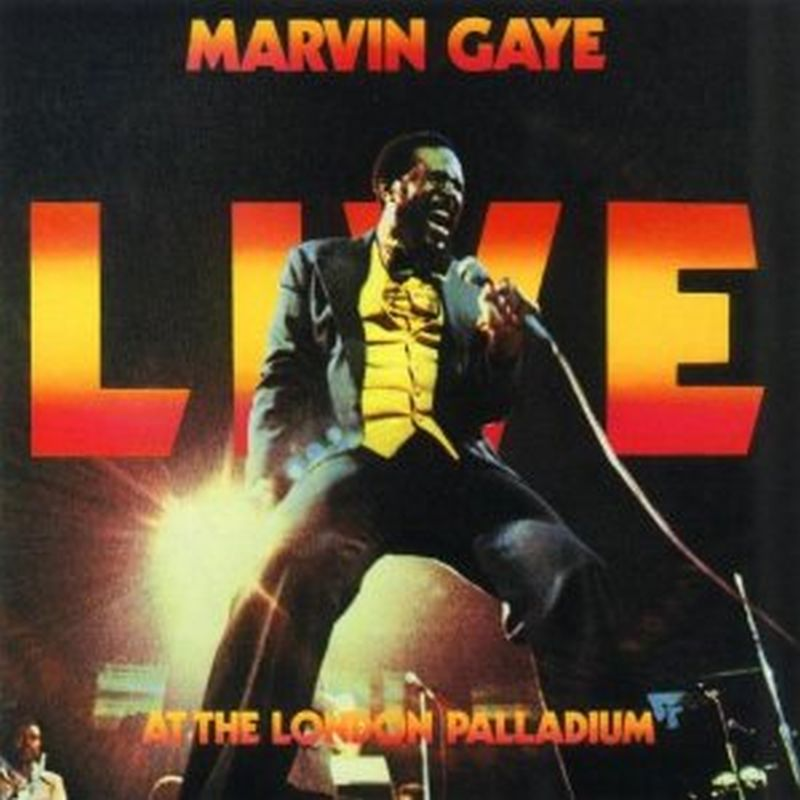 Marvin Gaye - Live At The London Palladium - Cd