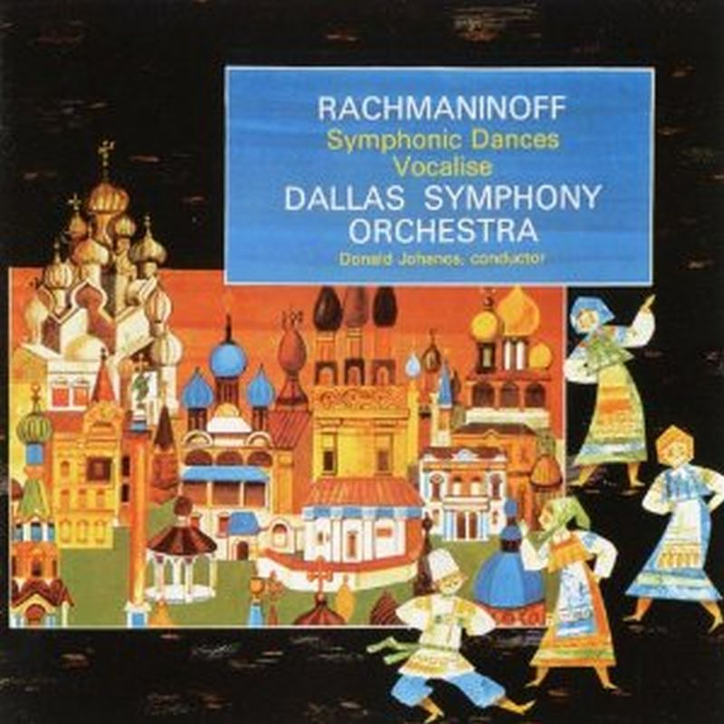 Rachmaninoff - Symphonic Dances Vocalise - Cd