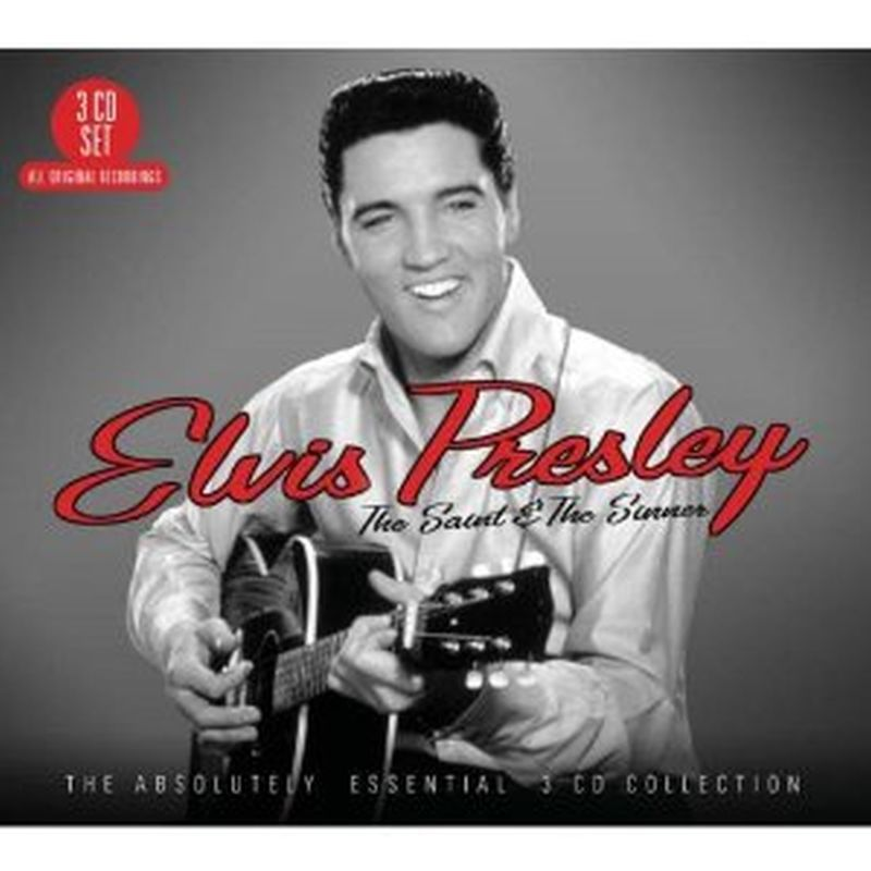 Elvis Presley - The Saint And The Sinner - 3 Cd Set