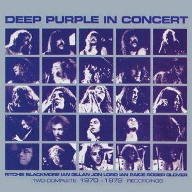 Deep Purple - In Concert:two Comp 70-72 Recordings - 2cd