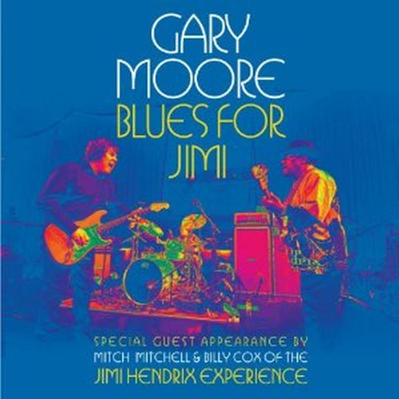 Gary Moore - Blues For Jimi (gatefold - 2 Vinyl Set)