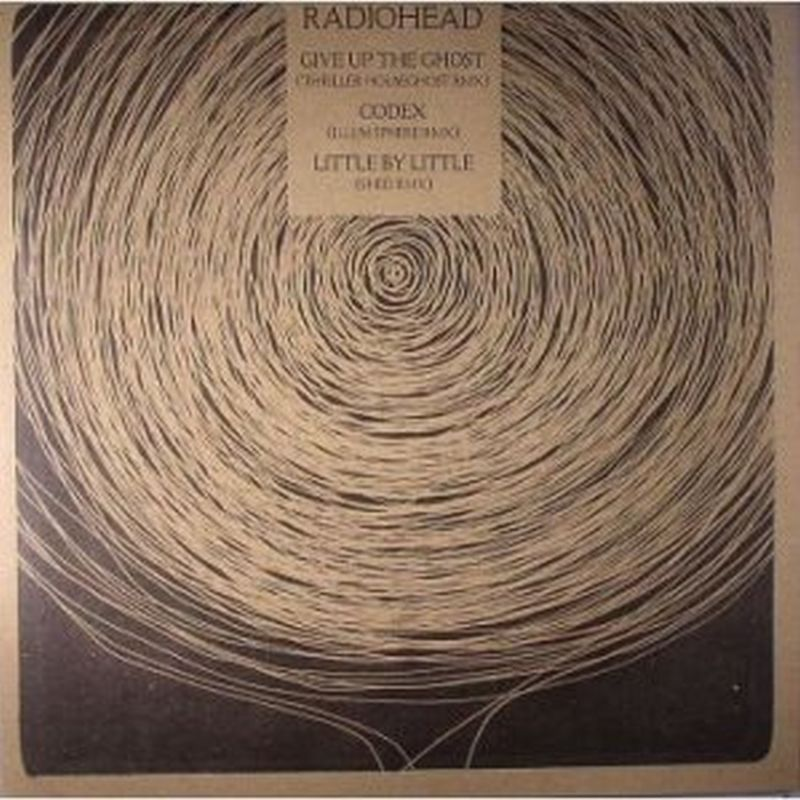 Radiohead - Give Up The Ghost/codex:rmx - Vinyl