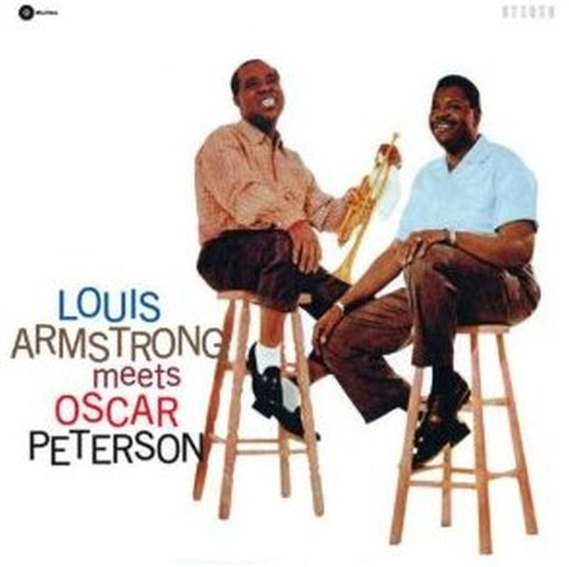 Louis Armstrong - Meets Oscar Peterson - Lp