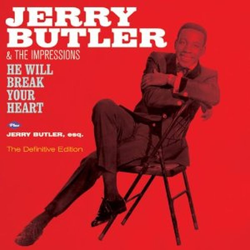 Jerry Butler - He Will Break Your Heart/jerry Butler Esq. - Cd