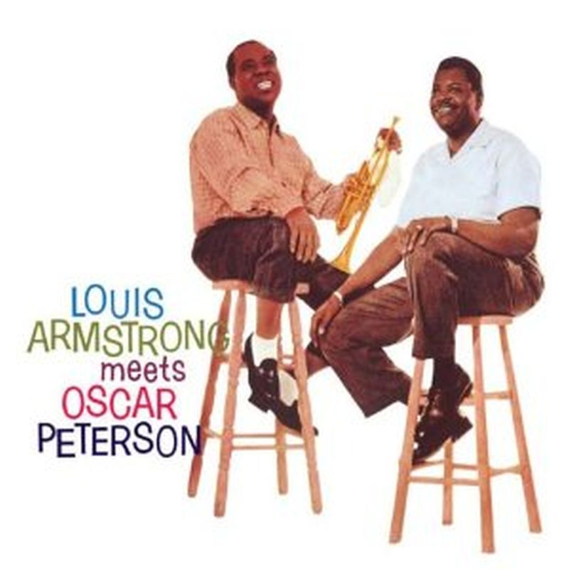 Louis Armstrong - Louis Armstrong Meets Oscar Peterson - Cd