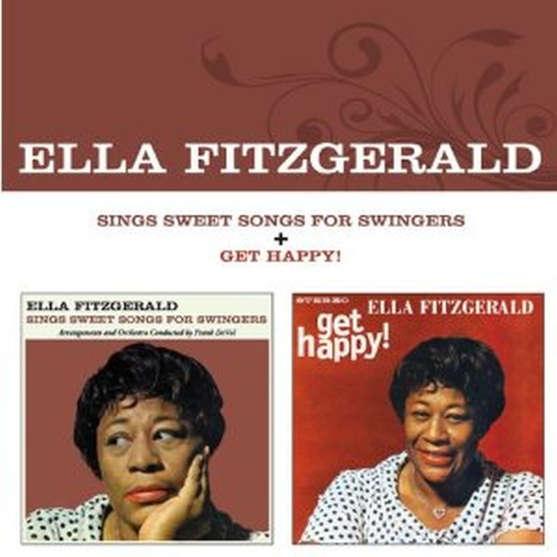 Ella Fitzgerald - Sings Sweet Songs For Swingers/get Happy! (rm/bonus - Cd)