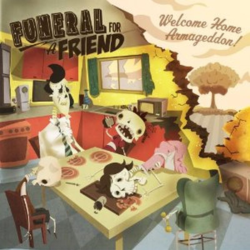 Funeral For A Friend - Welcome Home Armageddon - Cd