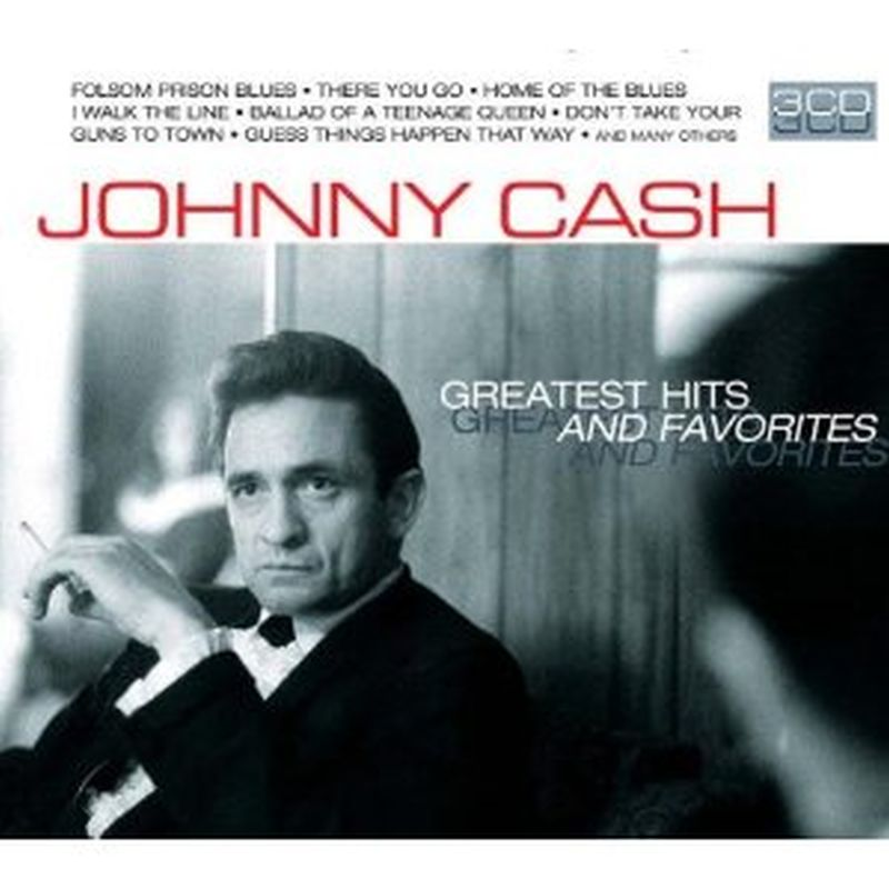 Johnny Cash - Greatest Hits And Favourites - 3 Cd Set
