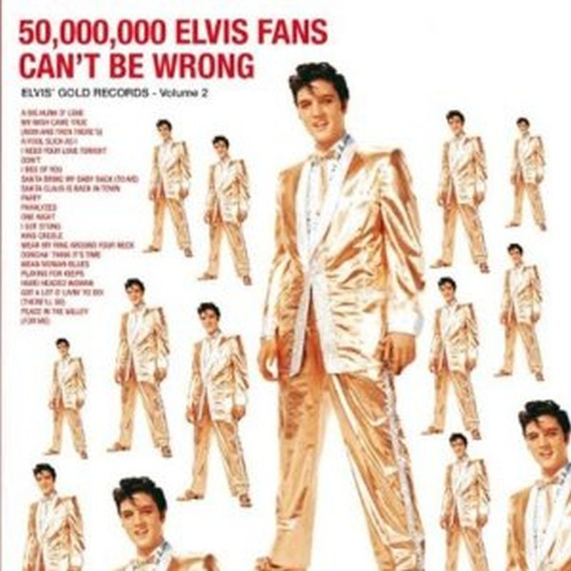 Elvis Presley - 50,000,000 Elvis Fans Can't Be Wrong (remastered/180 Gram - Lp)