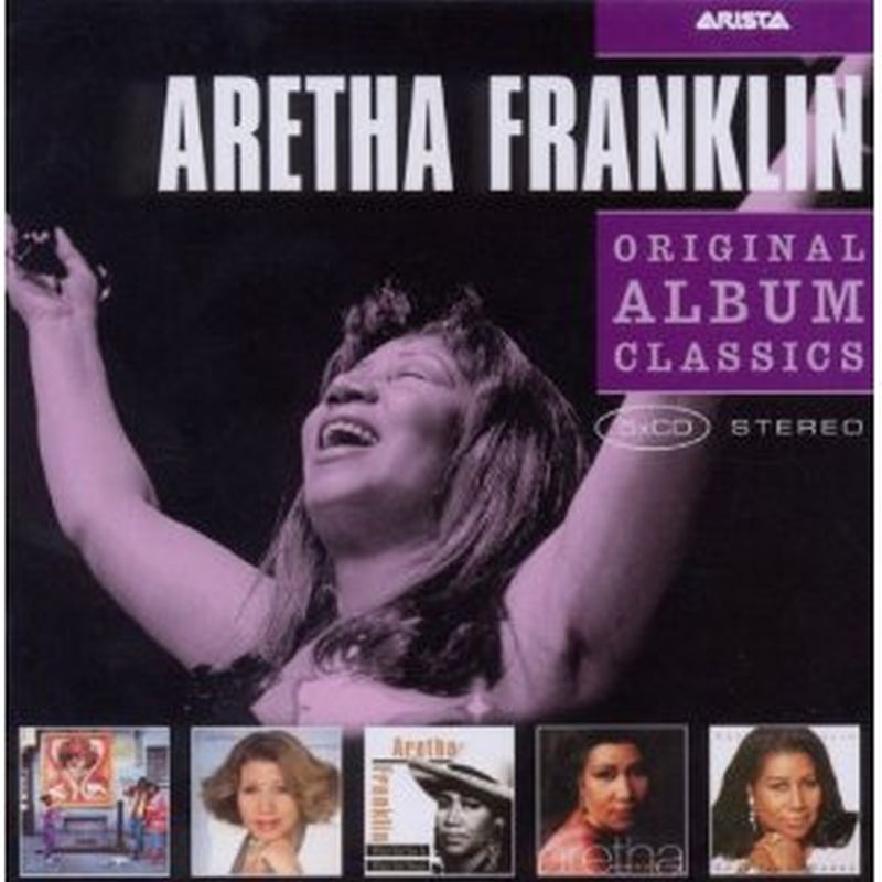 Aretha Franklin - Original Album Classics - 5 Cd Set