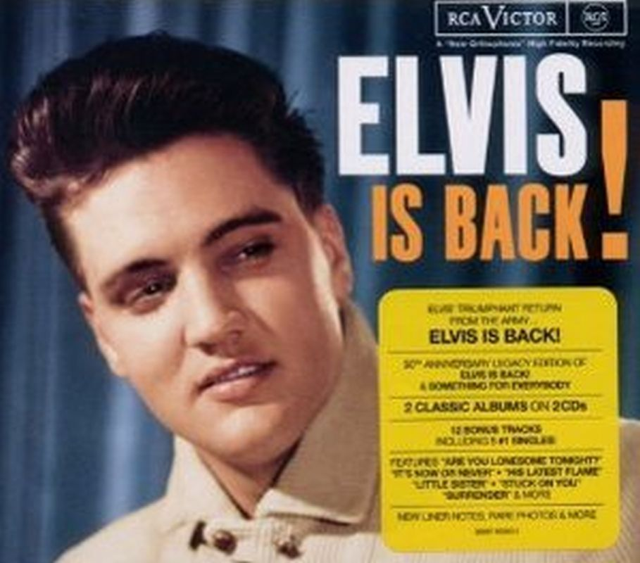 Elvis Presley - Elvis Is Back - 2cd