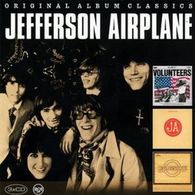 Jefferson Airplane - Volunteers/bark/long John... - 3cd