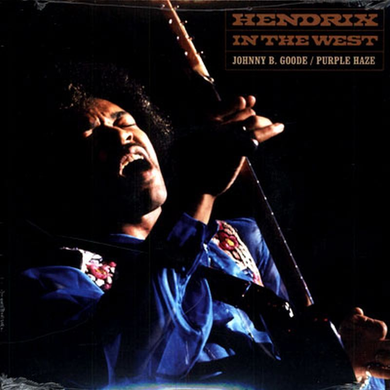 Jimi Hendrix - Johnny B. Goode/purple Haze 7 In. - Vinyl