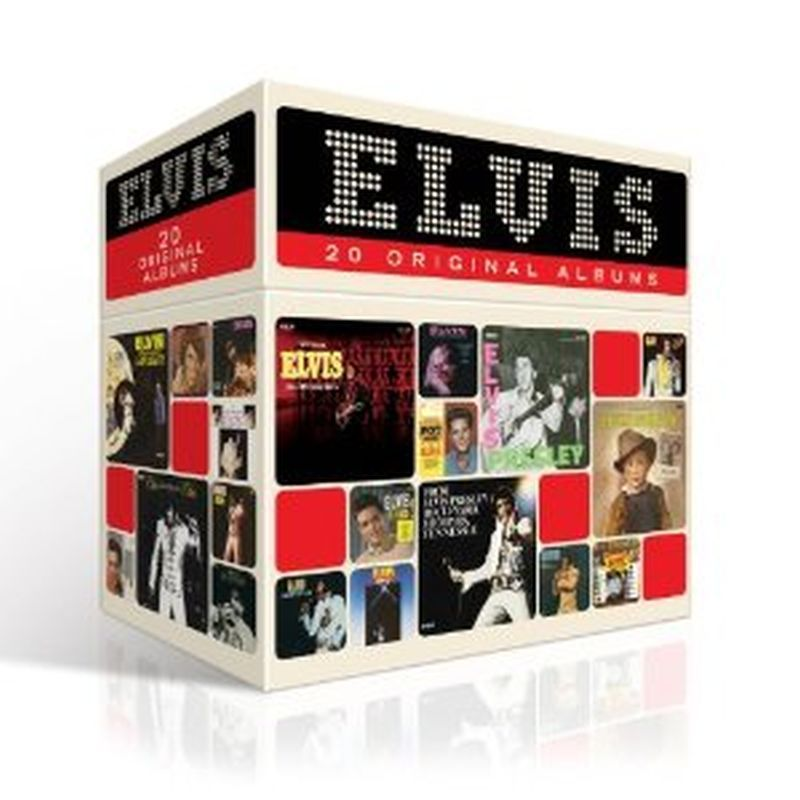 Elvis Presley - 1956-1977: 20 Original Albums - 20 Cd Set