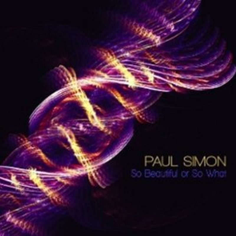 Paul Simon - So Beautiful Or So What - Cd