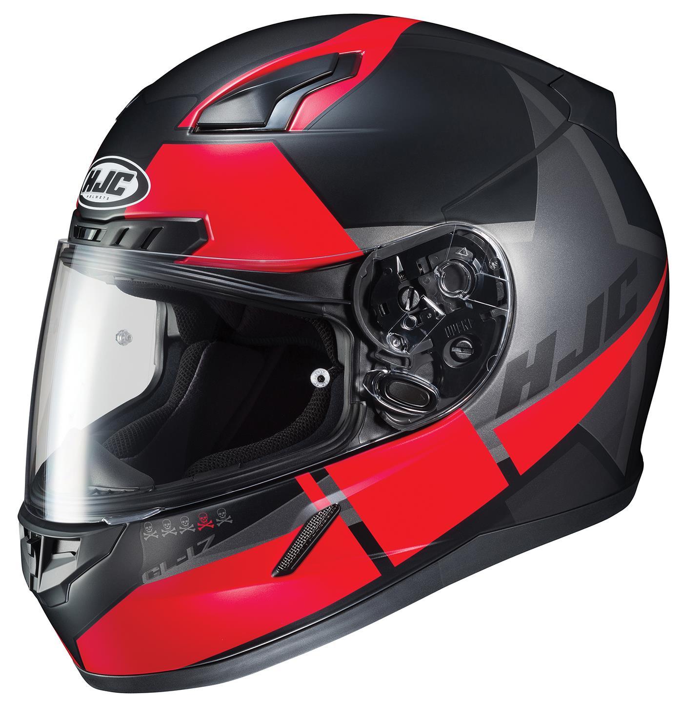HJC CL-17 Boost Helmet MC-1SF (Black, X-Large)