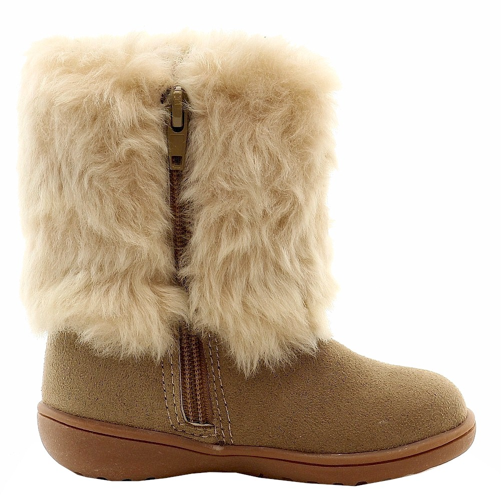 Carter's Toddler Girl's Fluffy 2 Fashion Fur Winter Boots Shoes | eBay