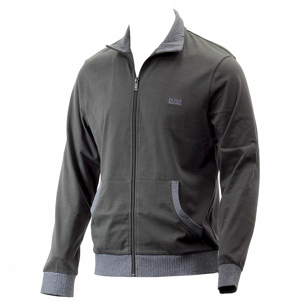 hugo boss mens long sleeve full zip up jacket ebay